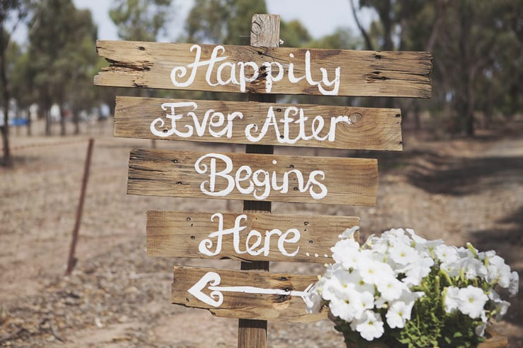 Classic-Country-Romance-Wedding-Happily-Ever-After-Sign