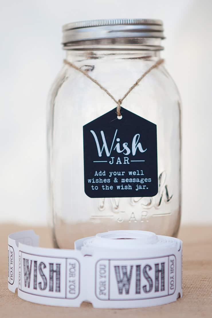 Classic-Country-Romance-Wedding-Reception-Wish-Jar-2