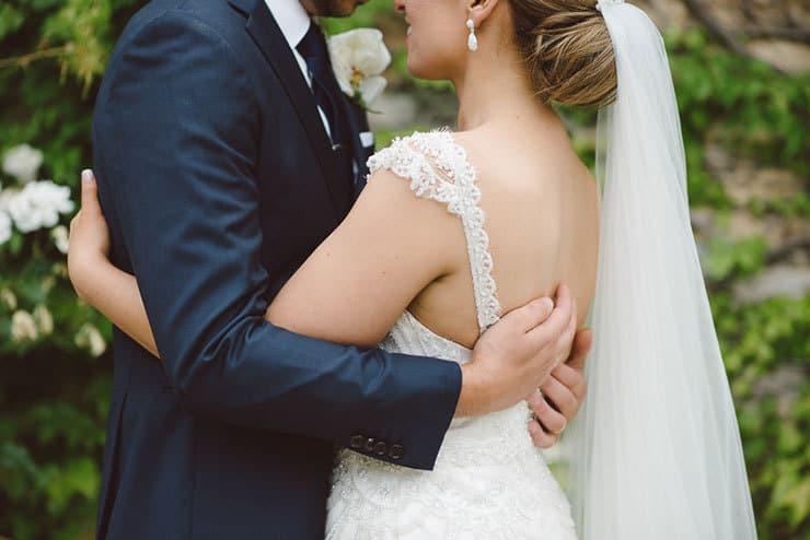 Classic-Estate-Wedding-Pink-White-Bride-Groom-Dress