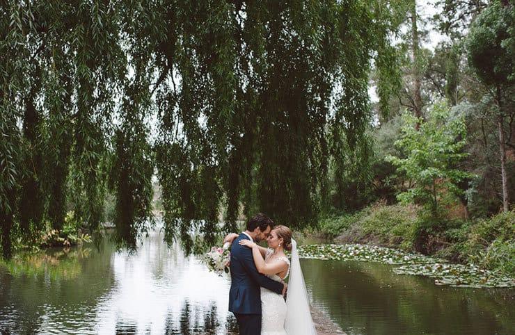 Classic-Estate-Wedding-Pink-White-Bride-Groom-Portrait-2