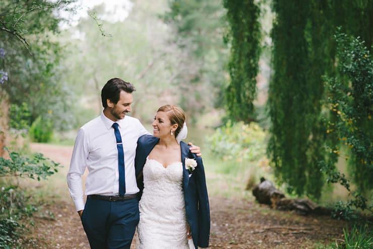 Classic-Estate-Wedding-Pink-White-Bride-Groom-Portrait