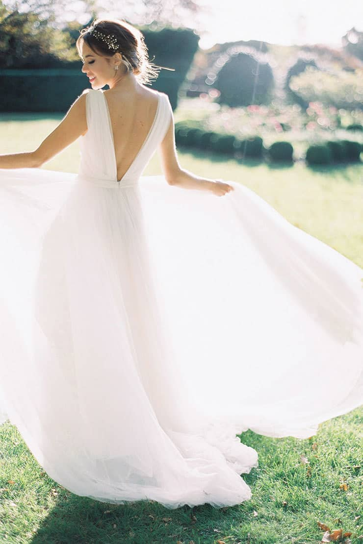Classic-Wedding-Dress-Tulle-Low-Back-Hope-and-Page