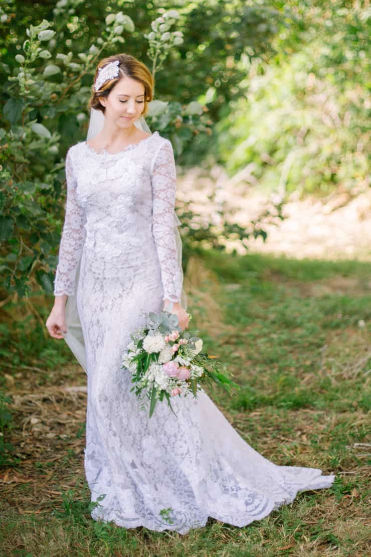 Classically Romantic Wedding Inspiration | Amy Steed Photography
