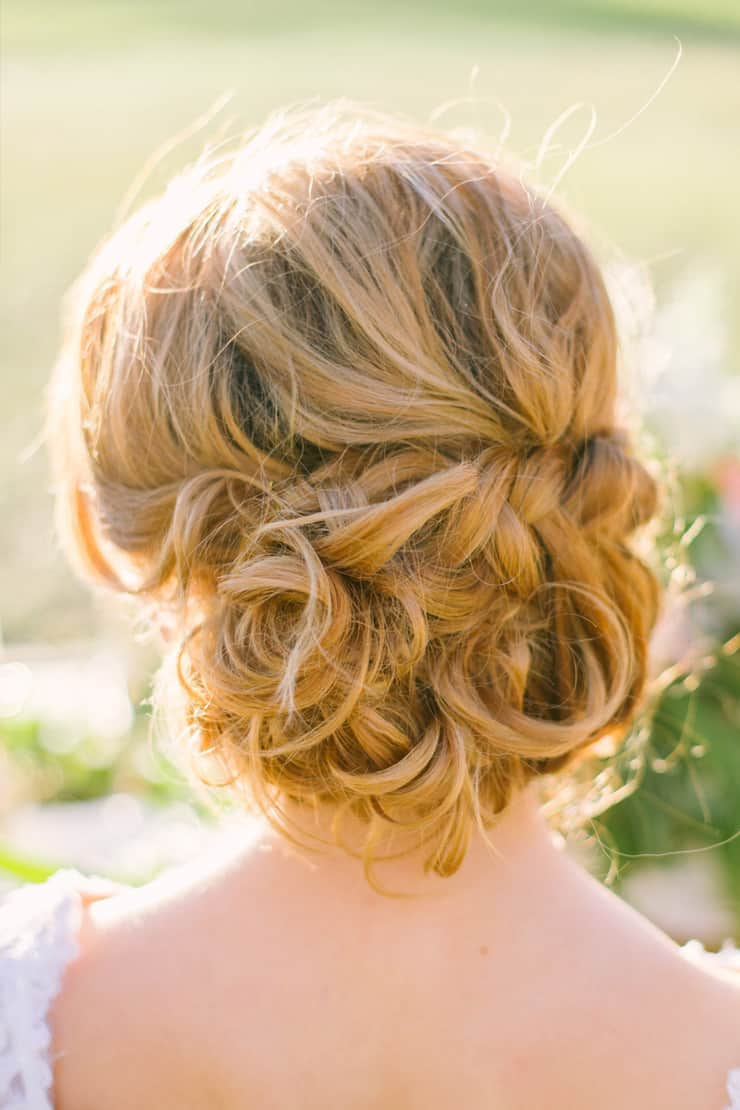 Heavenly Wedding Hair Ideas | Amy Steed Photography