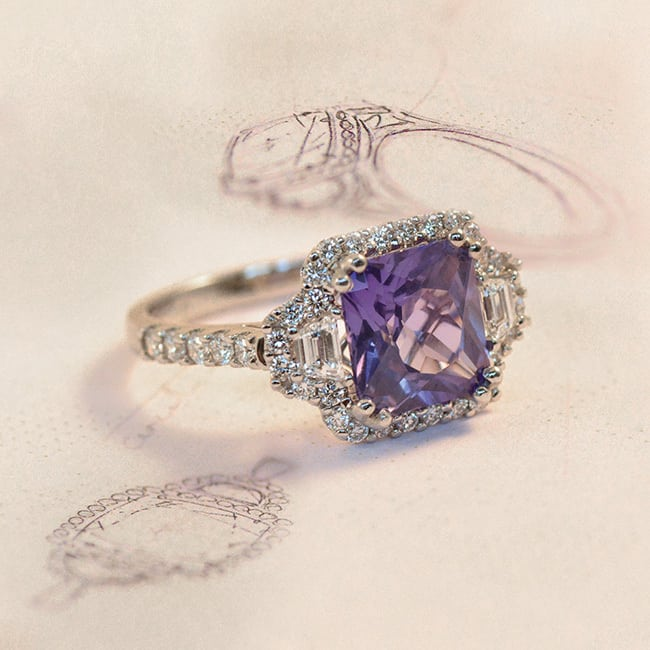 Coloured-Stone-Engagement-Ring-Tips-Design