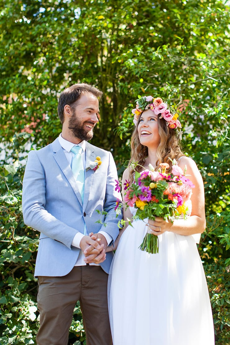 Colourful Garden Party Wedding | Pepperberry Photography