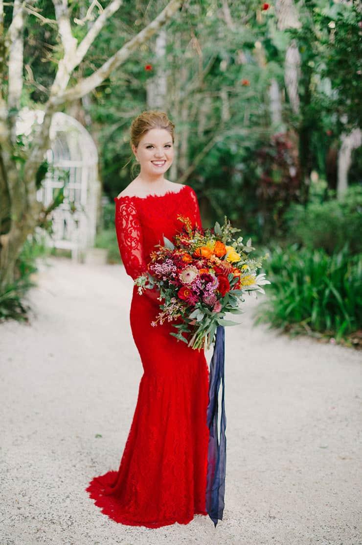 Colourful Outdoor Garden Wedding   Sophie Baker Photography
