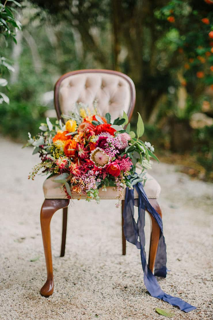 Colourful Outdoor Garden Wedding | Sophie Baker Photography