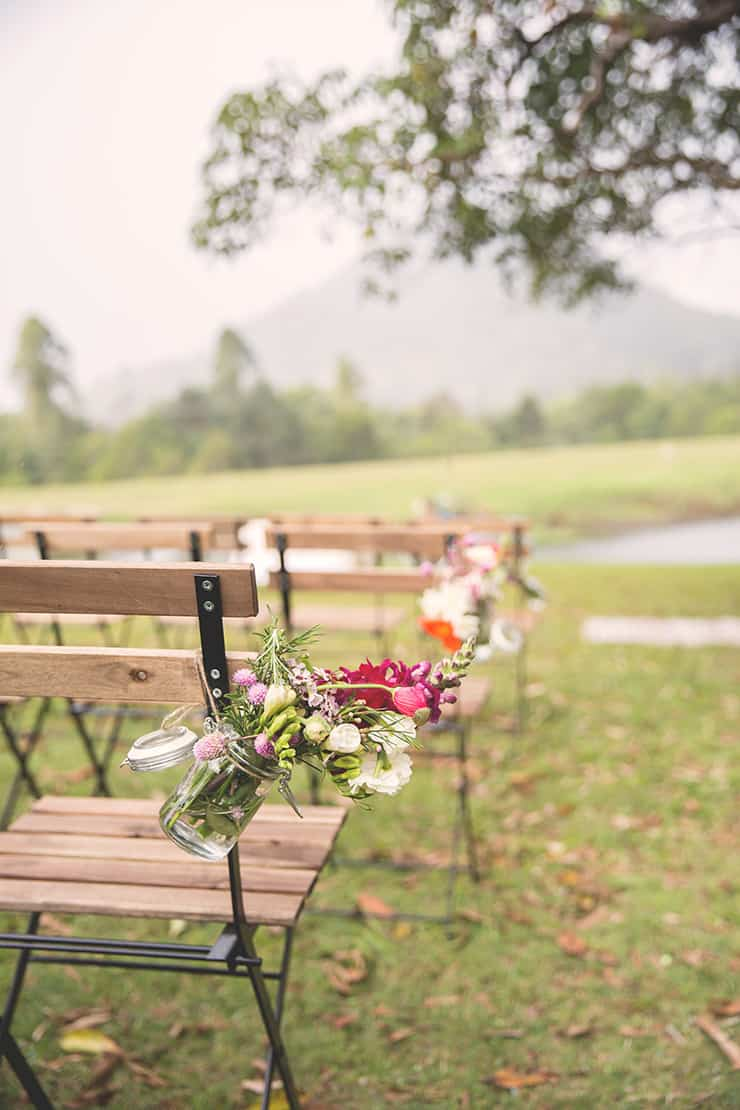 Colourful-Vintage-DIY-Wedding-Ceremony-Seating-Flowers