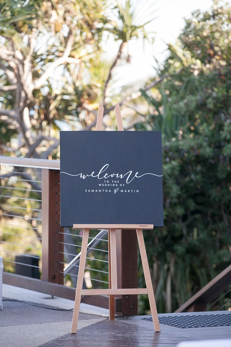 Samantha & Marty's Contemporary Coastal Wedding | Karen Buckle Photography