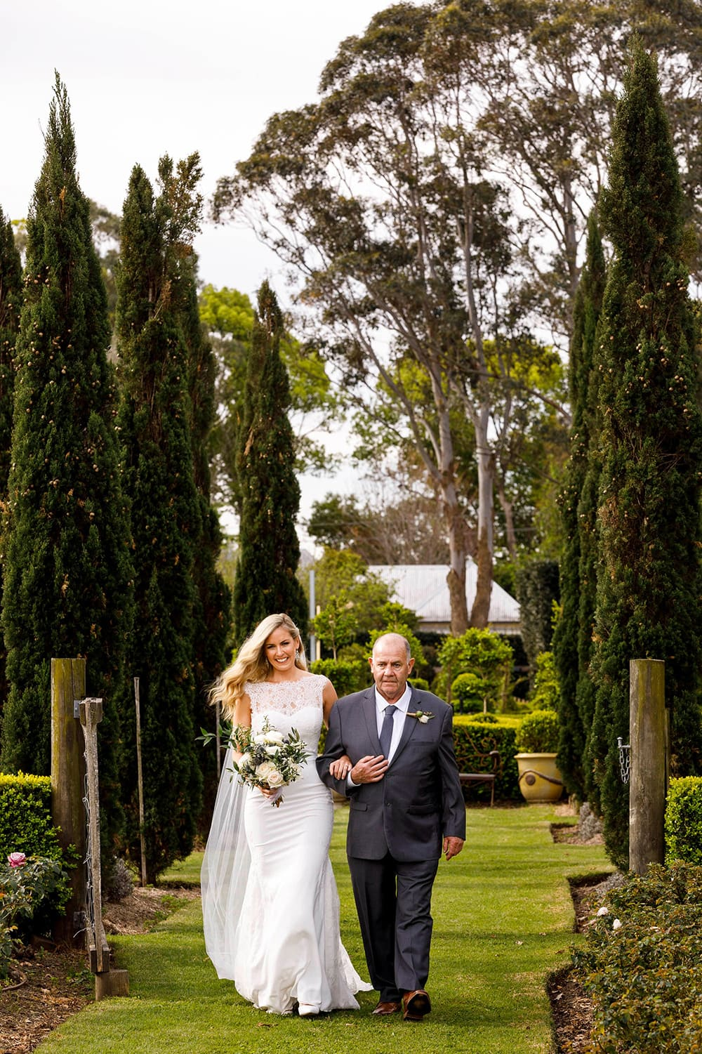 Jessica & Ben's Country Garden Party Wedding | Photography: Florent Vidal Photography