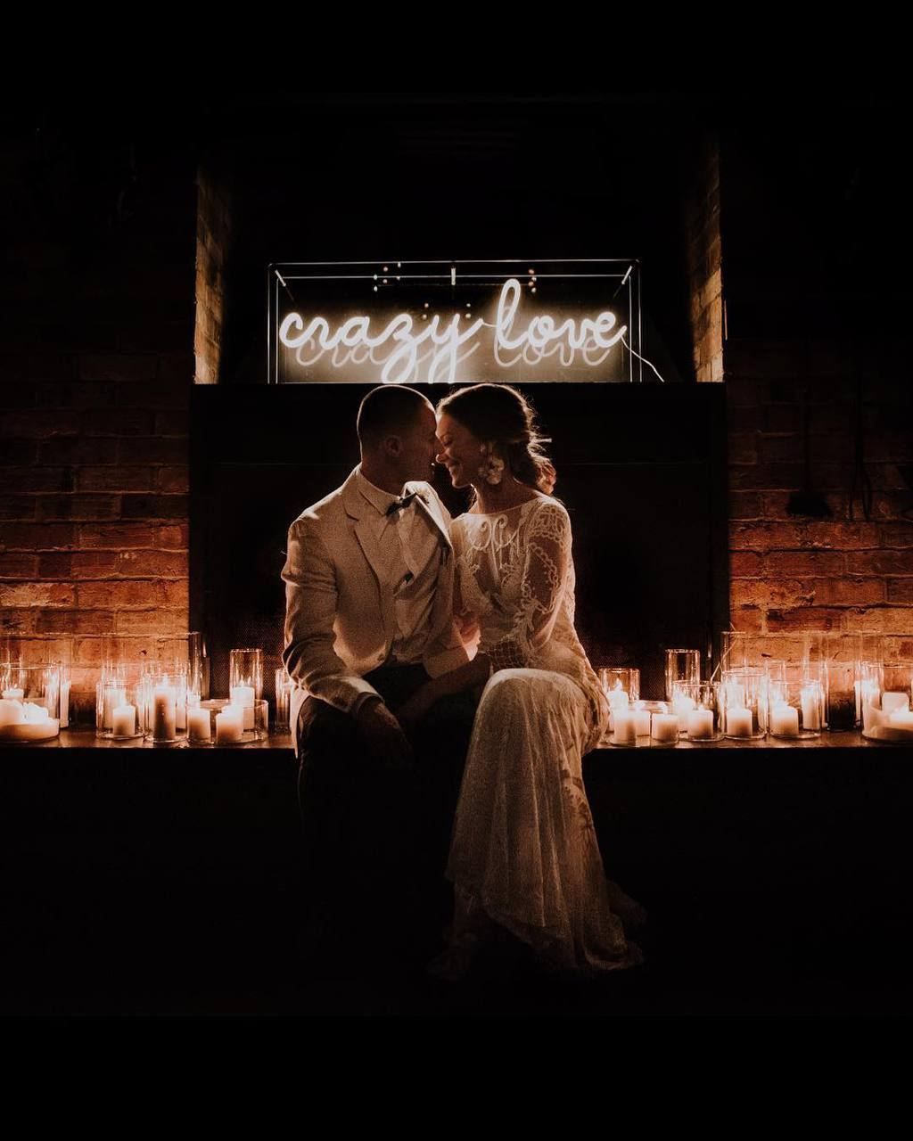 Crazy Love Neon Sign by Little Pineapple Neon | Photography: Tess Follett