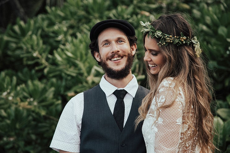 Karen and Uwe's DIY Boho Wedding