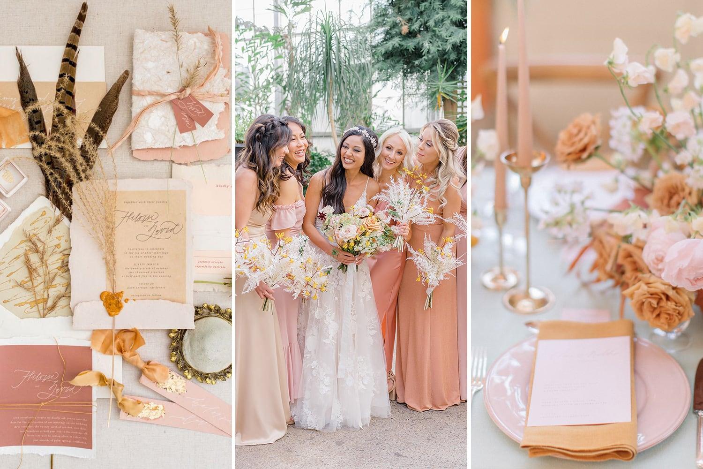 Romantic Boho Desert Pastel Wedding Ideas