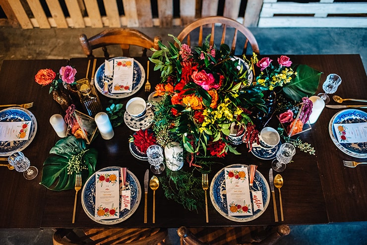 Gorgeous Wedding Reception Centrepiece Ideas | Peppermint Photography