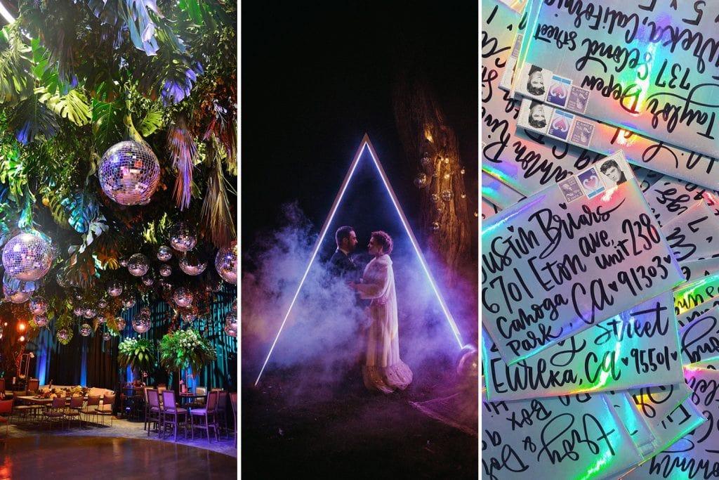 Electric Disco Wedding Ideas