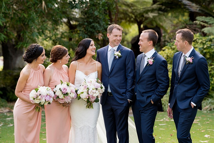 Elegant Blush Wedding | DeRay and Simcoe