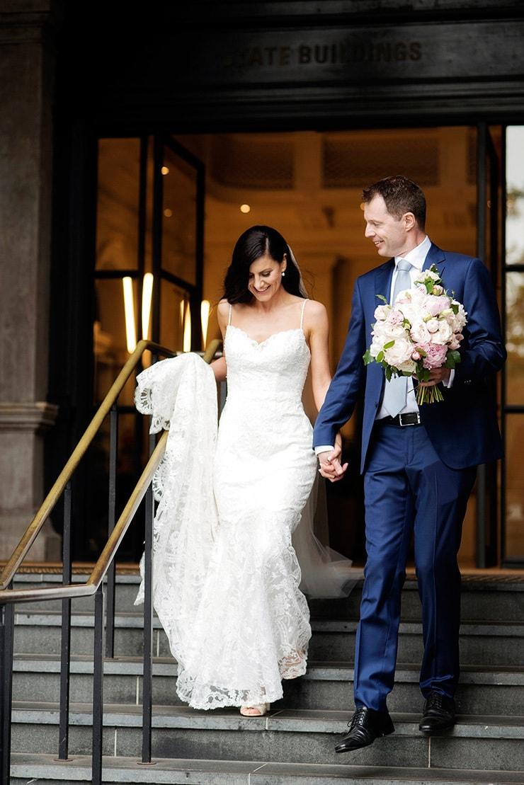 Elegant Blush Wedding |DeRay and Simcoe