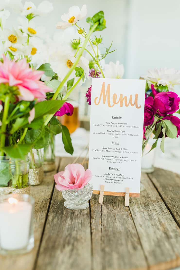 An Elegant Boho Wedding by the Beach