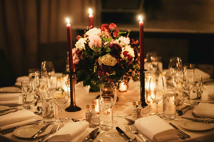 Gorgeous Wedding Reception Centrepiece Ideas | The Beautiful Moment Photography