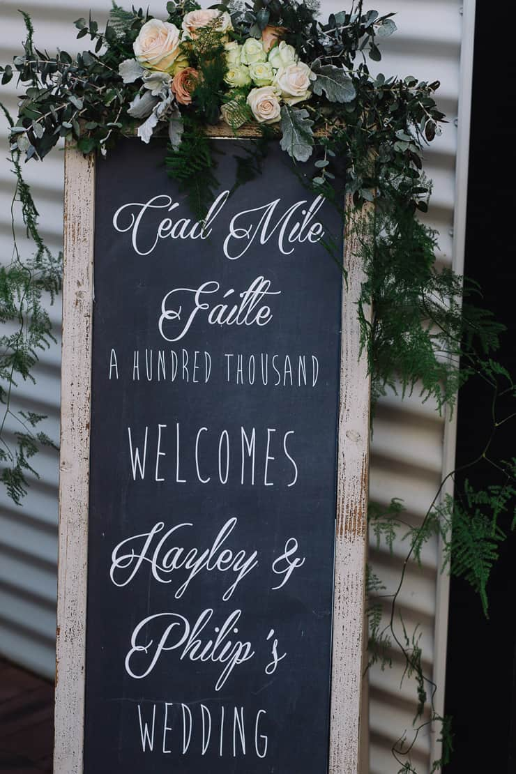 Elegant-Cocktail-Style-Wedding-Welcome-Sign