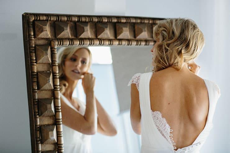 Elegant-Tropical-Wedding-Dress-Bride-Getting-Ready