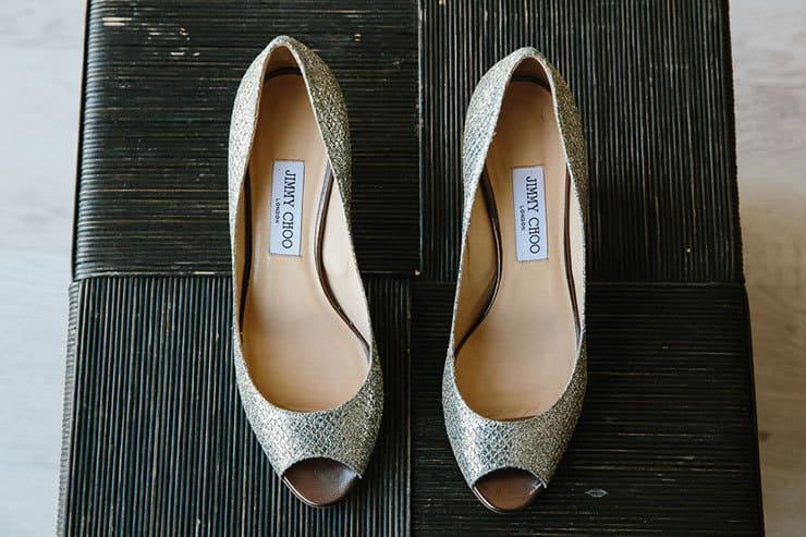 Elegant-Tropical-Wedding-Jimmy-Choo-Bride-Shoes
