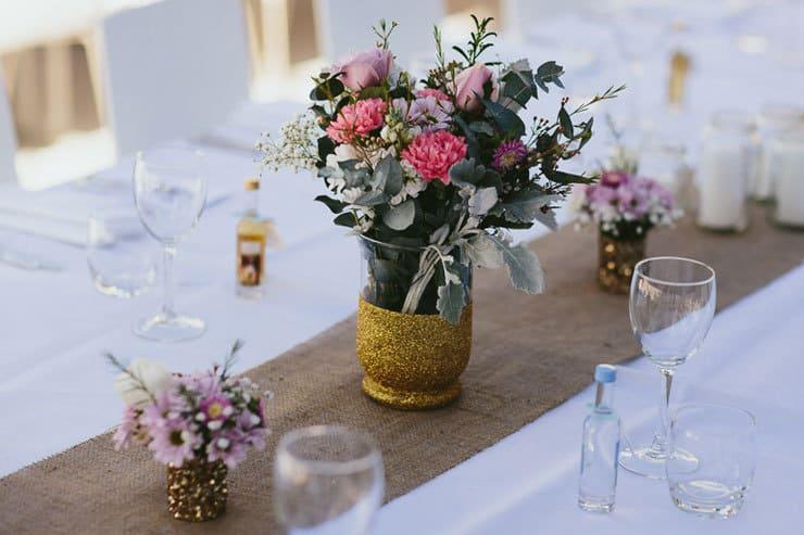 Elegant-Tropical-Wedding-Reception-Styling-Centrepiece