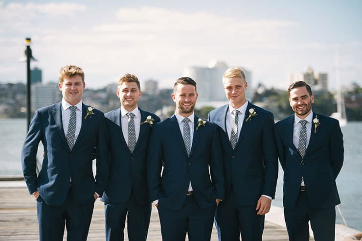 Elegant-Waterside-Wedding-Navy-&-Grey-Groomsmen-Suits