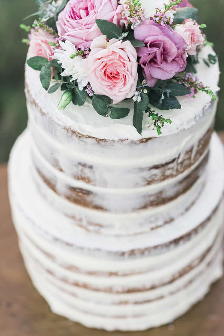 Creative Wedding Cakes | Kaitlin Maree Photography