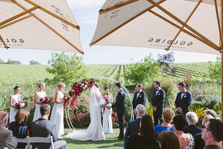 Maddie and Matthew's Elegant Winery Wedding | Luke Simon Photography