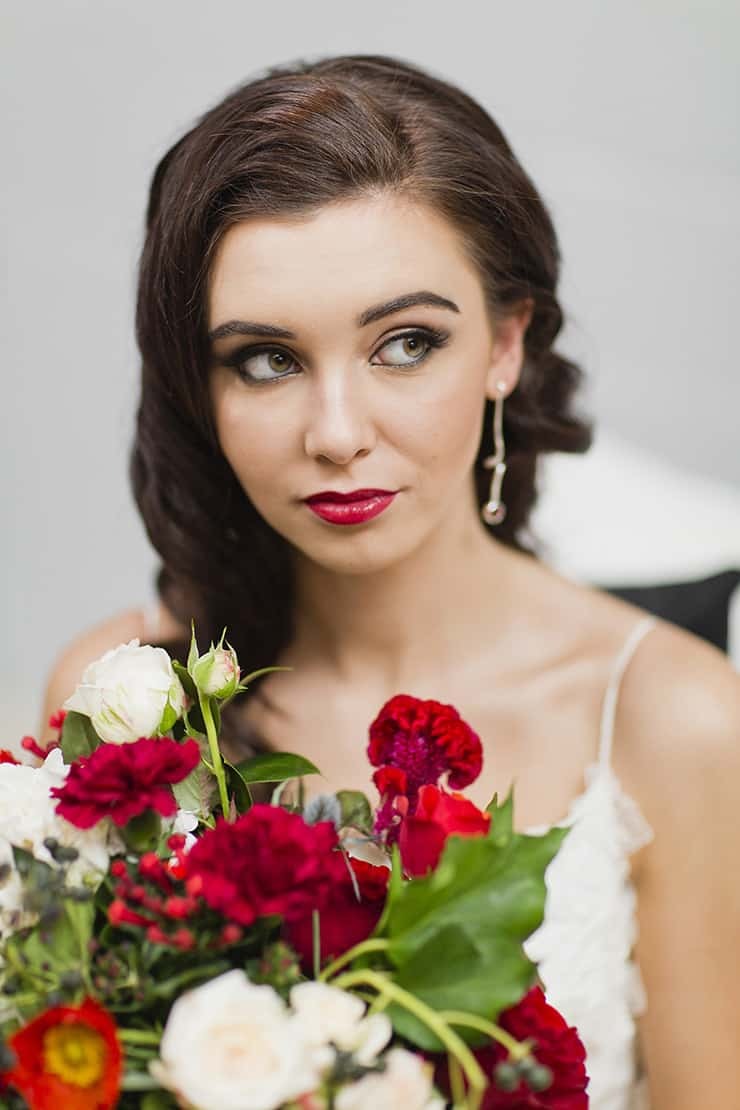Elizabeth Taylor Inspired Bridal Shoot | Lyndal Carmichael Photography