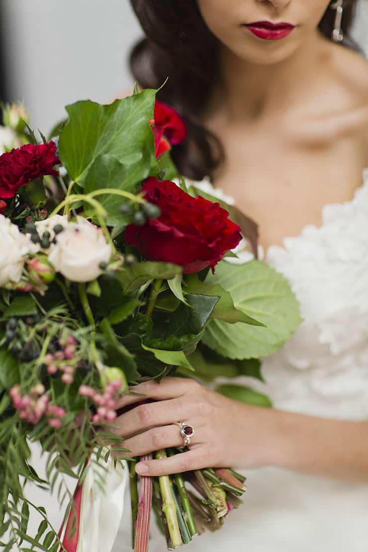 Elizabeth Taylor Inspired Bridal Shoot | Lyndal Carmichael Photography