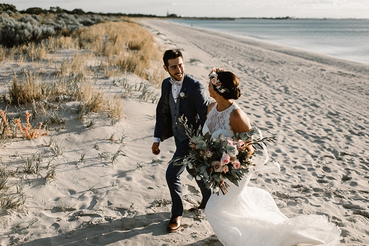 Fresh Coastal Wedding | Bird on the Wall Photography