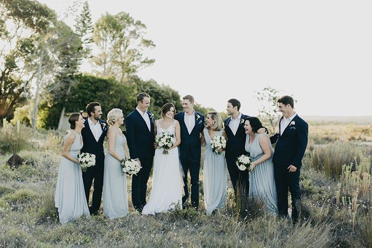 A Fresh Green and White Coastal Wedding