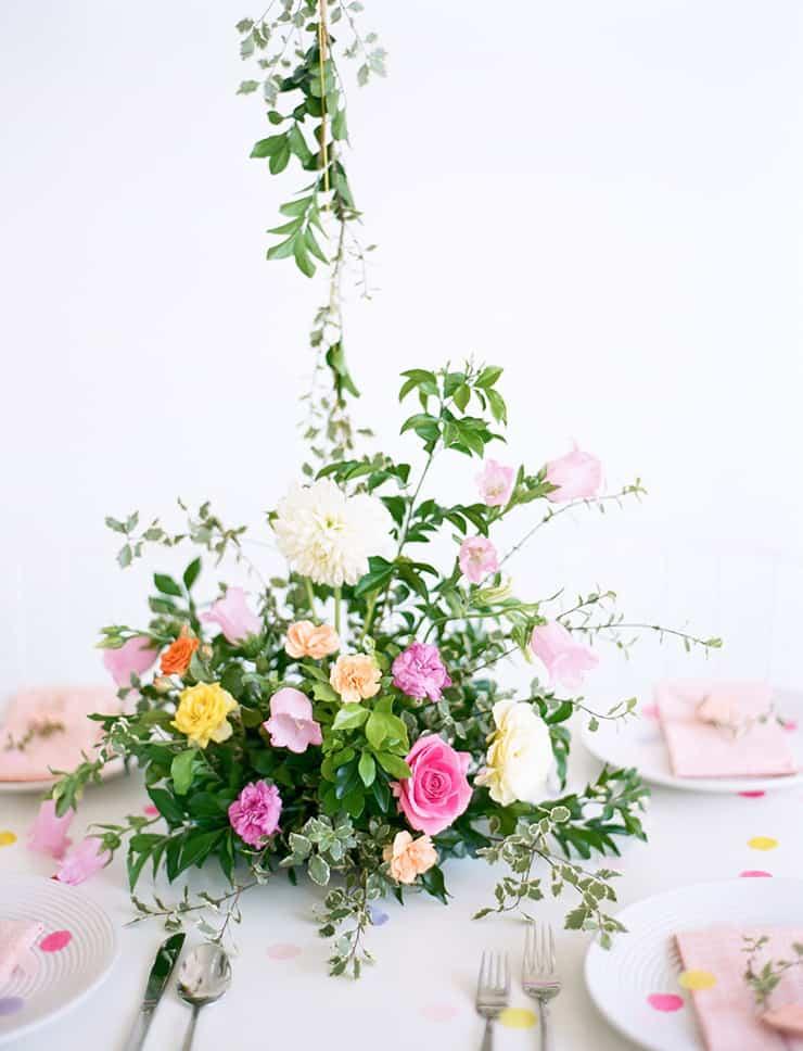 Garden-Party-Inspired-Bridal-Shower-Ideas-Centrepiece-2