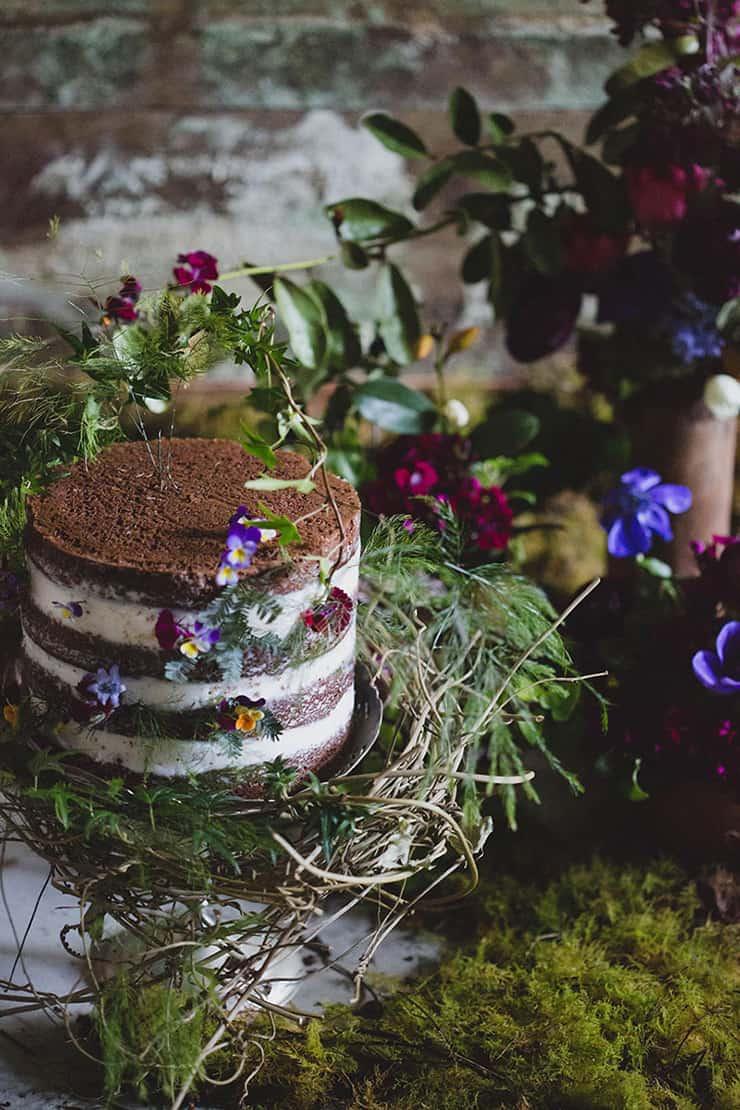 Gillian Bell Cake - Brisbane Wedding Cakes