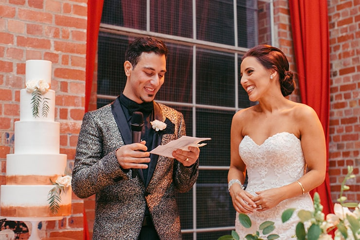 A Glamorous Industrial Wedding | Duuet Photography