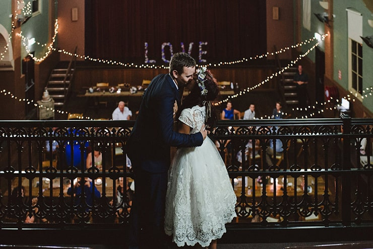 Cayce and Damien's Handmade Vintage Wedding | Lauren Campbell