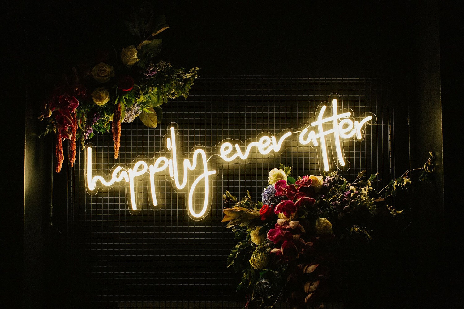 Happily Ever After Neon Sign by Custom Neon