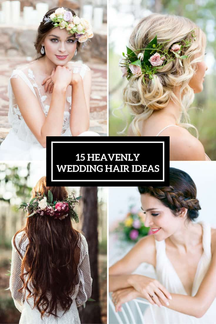 Heavenly Wedding Hair Ideas