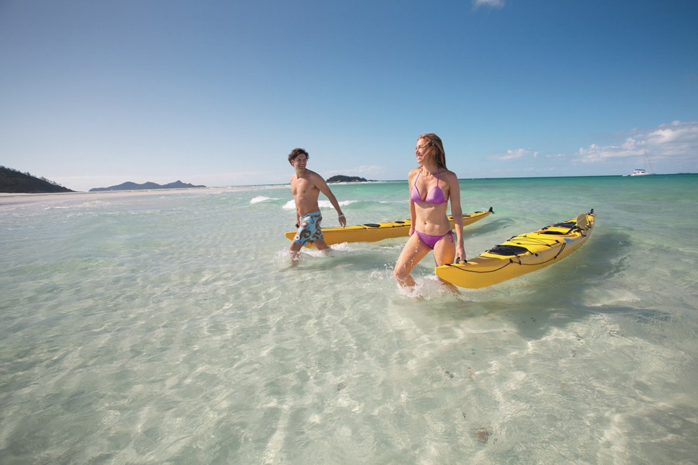 Honeymoon in The Whitsundays | Airlie Beach Experiences | Kayaking