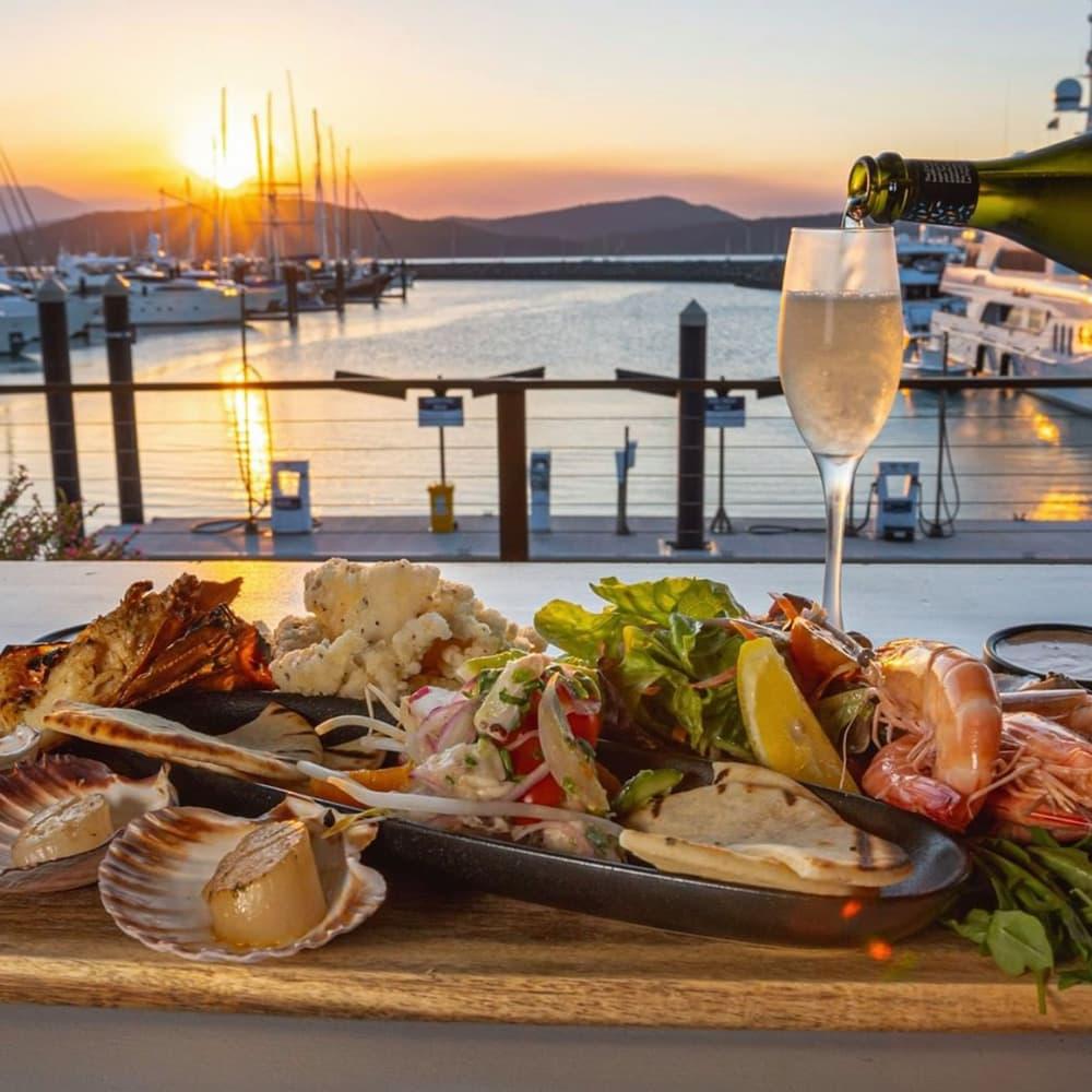 Honeymoon in The Whitsundays | Airlie Beach Restaurants | The Garden Bar Bistro