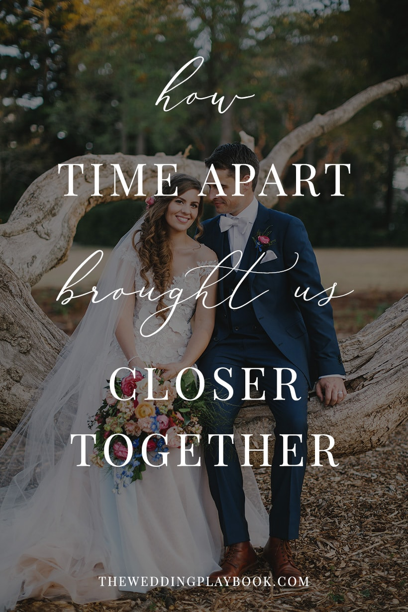 How time apart brought us closer together