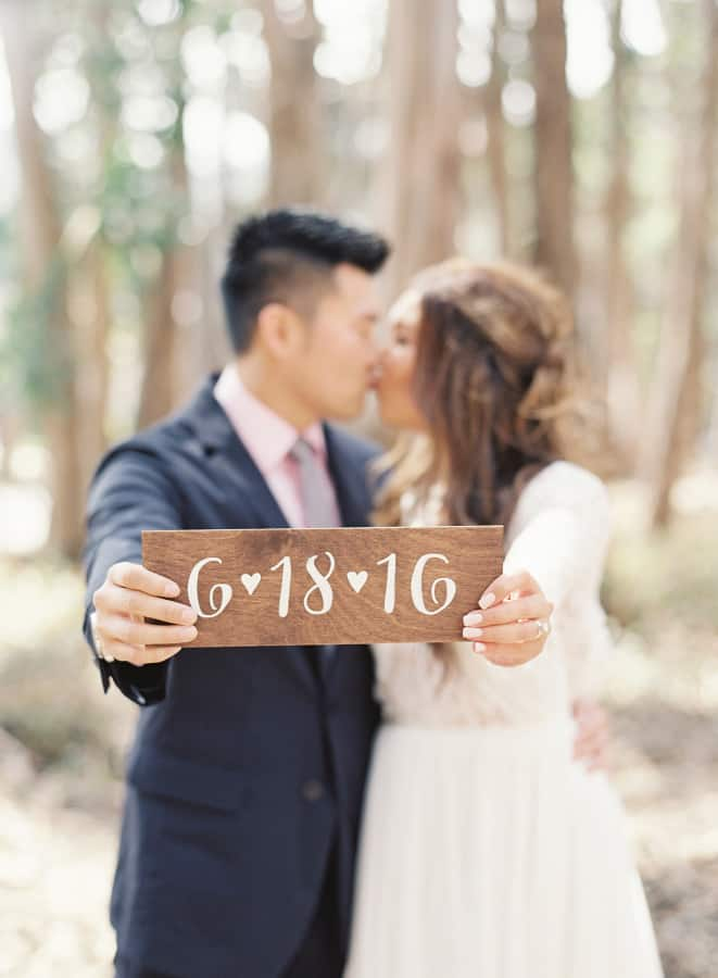 How to choose your wedding date | Caroline Tran Photography via Style Me Pretty