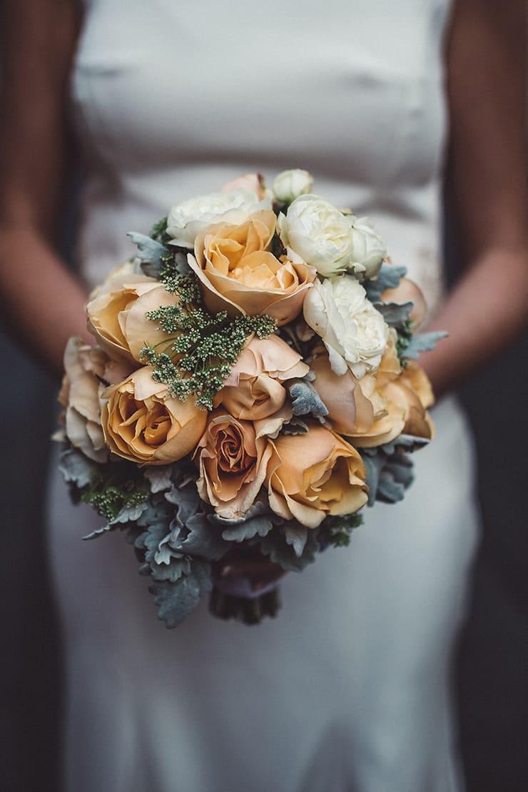 Industrial-Art-Gallery-Wedding-Bouquet