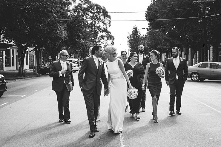 Industrial-Art-Gallery-Wedding-Bridal-Party