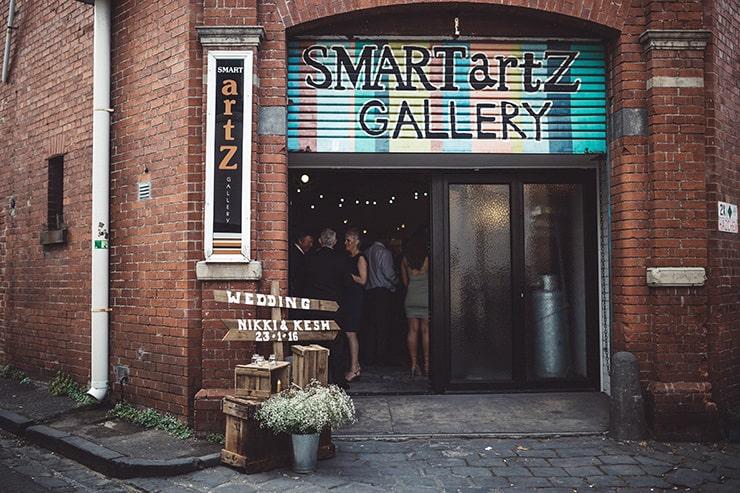 Industrial-Art-Gallery-Wedding-Venue-Entrance
