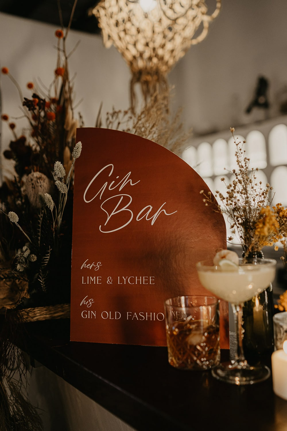 Intimate Modern Wedding Inspiration in Rust, Stone & Black   Photography: Doe and Deer Photography