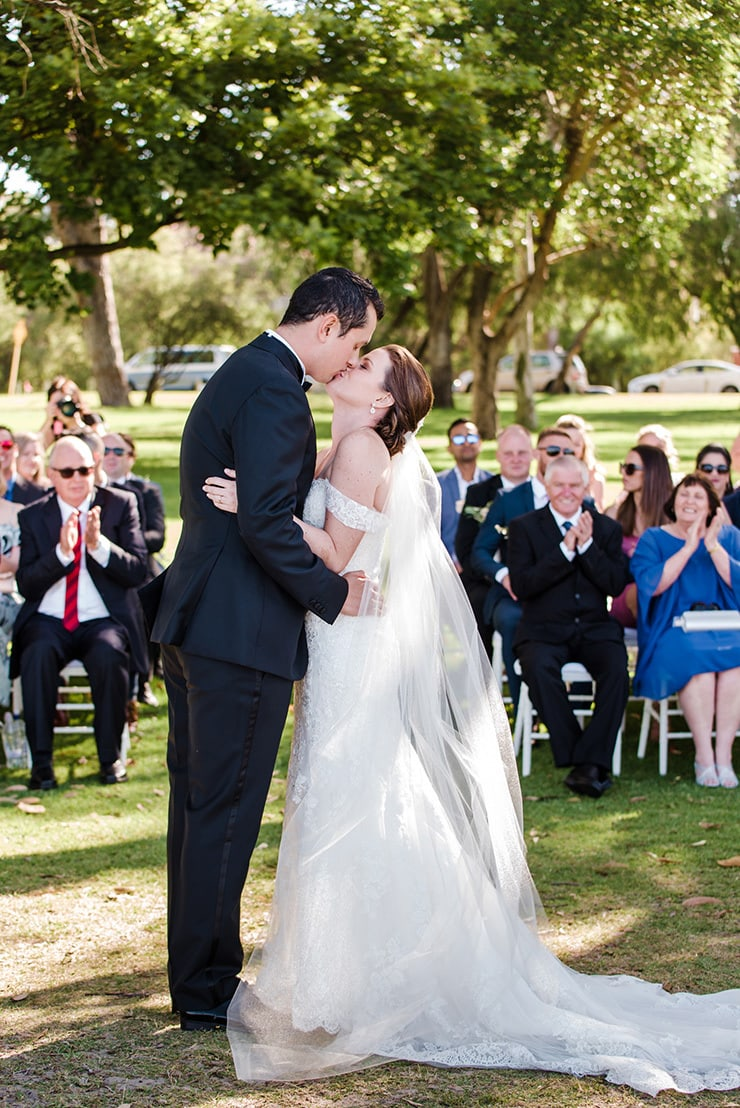 Tammy and Ed's Intimate Waterfront Wedding  Trish Woodford Photography